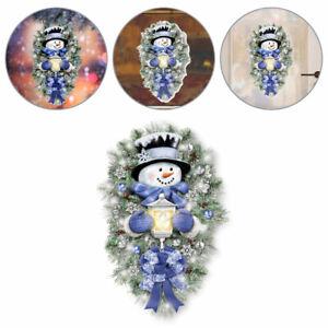 Christmas Window Stickers Xmas Snowman Santa Art Decal Wall Shop Home Decor New