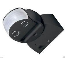 UKEW® Infrared Motion Sensor black IP65 Indoor or Outdoor IP65