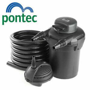 Pontec PondoPress 5000 Pressurised Pond Filter Pump & UV Steriliser All in One