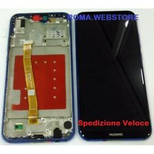 Lcd Display + Touch + Frame per Huawei P20 LITE ANE-LX1 BLU CORRIERE VELOCE
