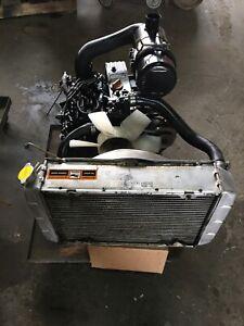 Yanmar 3TNE68C-NJG Engine Complete hydraulic pump