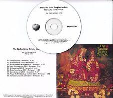 THE RADHA KRSNA TEMPLE S/T 2010 UK Apple remastered 9-track promo test CD