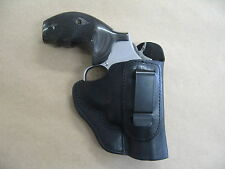 "Taurus 66 Revolver 2.5"" IWB Leather In The Waistband Carry Holster CCW BLACK RH"