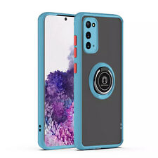 For Samsung Galaxy S20+ Ultra 5G Hybrid Case Rotation Ring Slim Kickstand Cover
