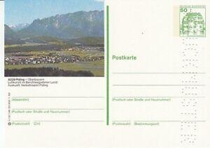 P 130 Bildpostkarte Imprimer Échantillon Piding