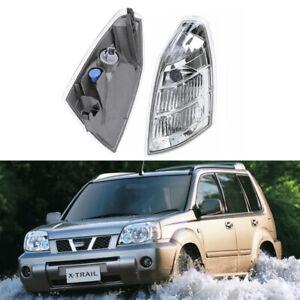 For Nissan X-TRAIL T30 01-07 Left Driver Clear Corner Signal Side Fog Light