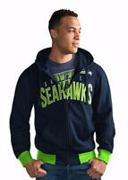 SEATTLE SEAHAWKS NFL G-III Men's Officially Licensed HOODIE & T-SHIRT COMBO, 2XL