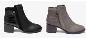 The Next Best Forever Comfort Block Heel Ankle Boots Size UK 3 - 8