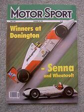 Motor Sport (May 1993) Senna wins Brazil & Europe GPs, Bentley Turbo R RL, DB7