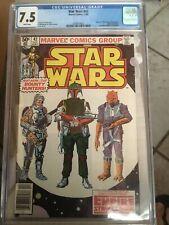 Star wars 42 CGC 7.5 First Boba Fett Newsstand