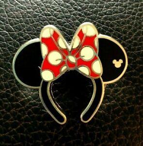 💗 Exclusive Minnie Mouse Headband Pin - Hong Kong Disneyland Resort Mickey Ears
