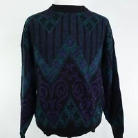 VTG ROBERT BRUCE LONG SLEEVE COOGI COSBY STYLE PULLOVER SWEATER MENS SZ XL