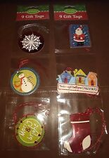 Christmas Gift Tags Set of 18