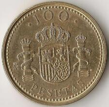 SPAIN,100 Pesetas 1998,  Cat.No. KM989  aluminum-bronze