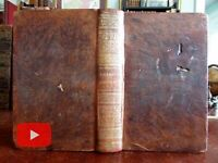 Lives of Signers of Declaration of Independence 1834 leather book engraved