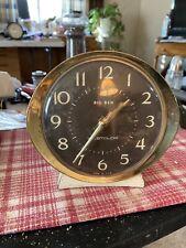 Vintage 1950-60's Big Ben Alarm Clock. Time And Alarm Work Perfectly!