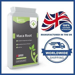 MACA ROOT 5,000MG 120 Capsules MAXIMUM STRENGTH For Energy Increase Sex Drive UK