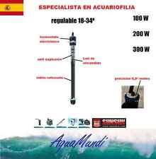 calentador termocalentador acuario pecera tortuguera sunsun 100 W Calidad TOP