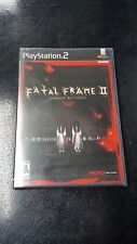 PS2 Fatal Frame 2: Crimson Butterfly NTSC US Import NEW AND SEALD