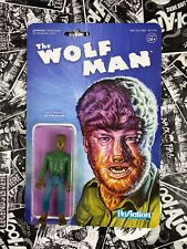 Universal Monsters The Wolf Man Super7 ReAction Figures Wolfman