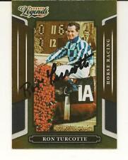 Ron Turcotte Signed Autographed 2008 Donruss Sports Legends Card Triple Crown