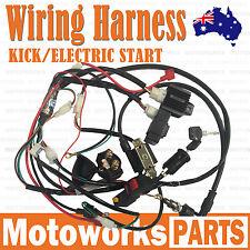 Full Electrics wiring harness PIT Dirt PRO BIGFOOT KICK / ELECTRIC START Bike c