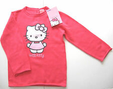 Pull tricoté Hello Kitty Taille 86 Sanrio c&a neuf 100% coton rose pink bébé