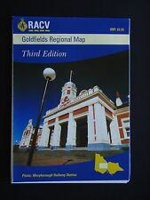 GOLDFIELDS REGIONAL MAP THIRD EDITION MARCH 1999 MAP