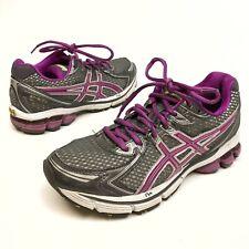 Asics GT-2170 Women's Gray Grape Running Shoes Sz 6.5 Eu37.5 Athletic EUC