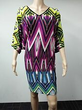 NEW - Maggy London - Size 2 - Printed Digital Multicolor Dress - $108