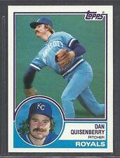 1983 Topps - #155 - Dan Quisenberry - Kansas City Royals