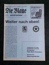 Bayernliga 83/84 TSV 1860 München - FC Wacker München, 04.02.1984