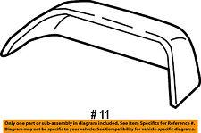 FORD OEM F-150 Door Side Rear View-Mirror Cover Cap Trim Right FL3Z17D742EA