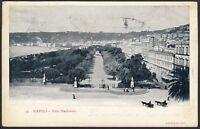 AX2016 Napoli - Villa Nazionale - Cartolina postale - Postcard