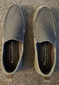 skechers relaxed fit memory foam mens shoes size 12