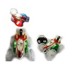 RC Turbo 360 Twister Stunt Car Flashing Light Dasher Vehicle Toy Remote Control