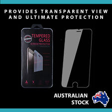"2X Tempered Glass Screen Protector Apple iPhone 6 4.7"" hard H9 Aus shock proof"