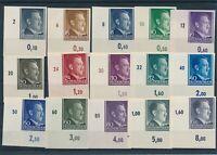 Stamp Germany Poland General Gov't Imperf 1941 WWII War AH Hitler Selection MNH
