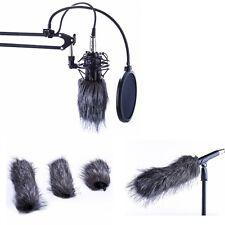 Microphone Mic Muff Fur Wind Cover For Zoom H1 H2N H4N Q3 Q3HD D50 Recorder