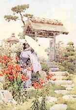 A4 Photo Du Cane Ella 1874 1943 Tiger lilies Flowers & Gardens of Japan 1908 Pri
