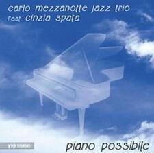 CD Carlo Mezzanotte Jazz Trio Spata Piano Possibile