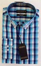 Check Regular Size NEXT Single Cuff Formal Shirts for Men
