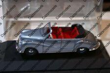 Schuco BMW 501 Cabrio 81037 Blue 1:43 scale diecast no sleeve