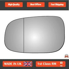 Volvo S40 Mk2 2006-2009 Left Passenger Side wide angle wing mirror glass 92LAS