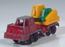 "Vintage Tootsietoy Mobile Hydraulic Crane Truck 3.25"" Die Cast Scale Model"
