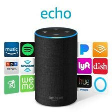 Amazon Echo (2nd Generation) Smart Assistant -Charcoal UPC 841667189741