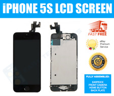 Complete iPhone 5S LCD Screen Digitizer Assembled Genuine OEM Replacement BLACK