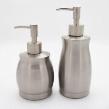 Acier Inoxydable Savon Liquide Distributeur Gel Douche Bouteille Pompe Bain Home