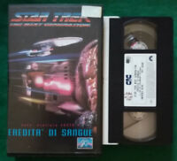 VHS FILM Ita STAR TREK Eredita'Di Sangue CIC VIDEO ex nolo no wars dvd cd (V128)