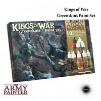 Kings of War Warpaints: Greenskins Paint Set - Army Painter Mantic KoW THG